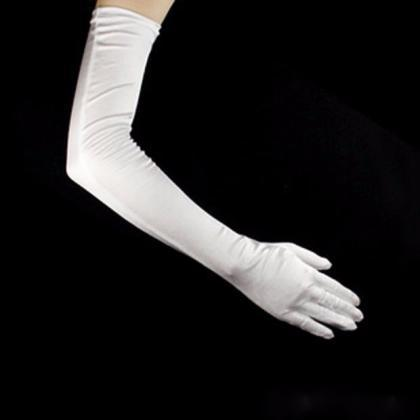 Long Party Bridal Dance Gloves Oper..